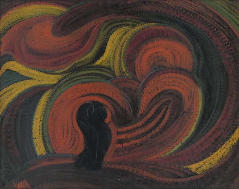 Anton Jasusch - Symfónia, 1922, Slovenská národná galéria