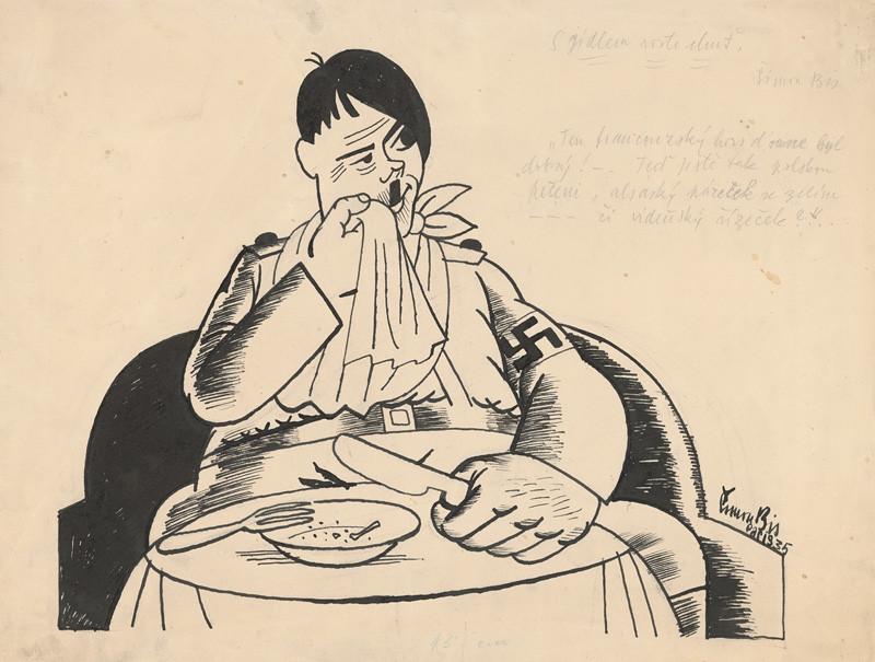 Štefan Bednár - S jedlom rastie chuť, 1935