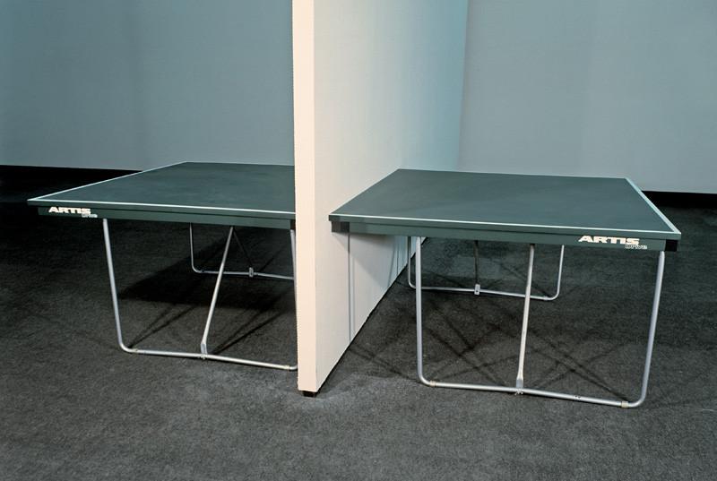 Július Koller - Ping-pongový stôl (1990), Slovenská národná galéria, SNG
