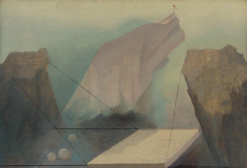 František Malý - Rybárska zátoka (1936), Slovenská národná galéria, SNG