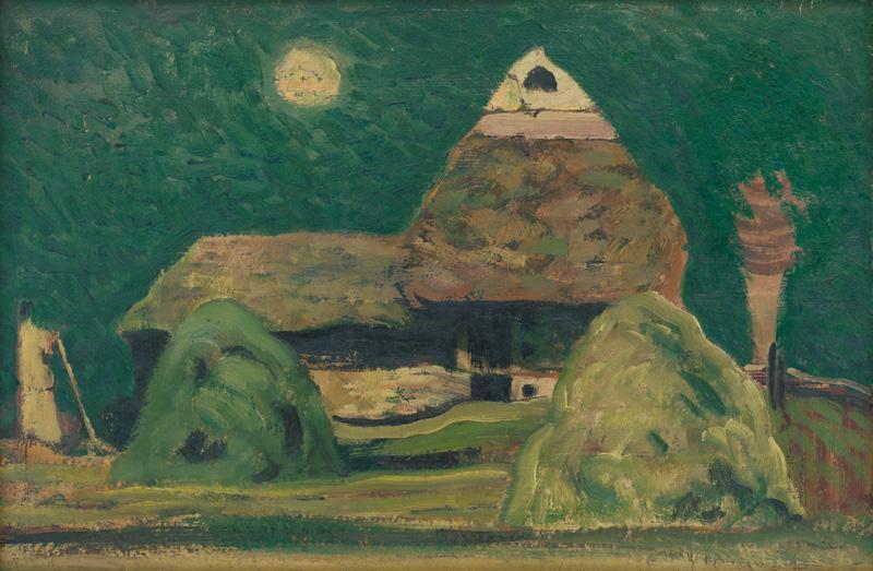 Miloš Alexander Bazovský - Detviansky laz, 1950, Slovenská národná galéria, SNG