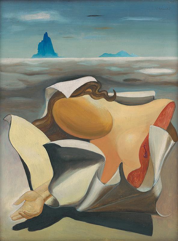 Imrich Weiner-Kráľ - Dievča (1935), Slovenská národná galéria, SNG