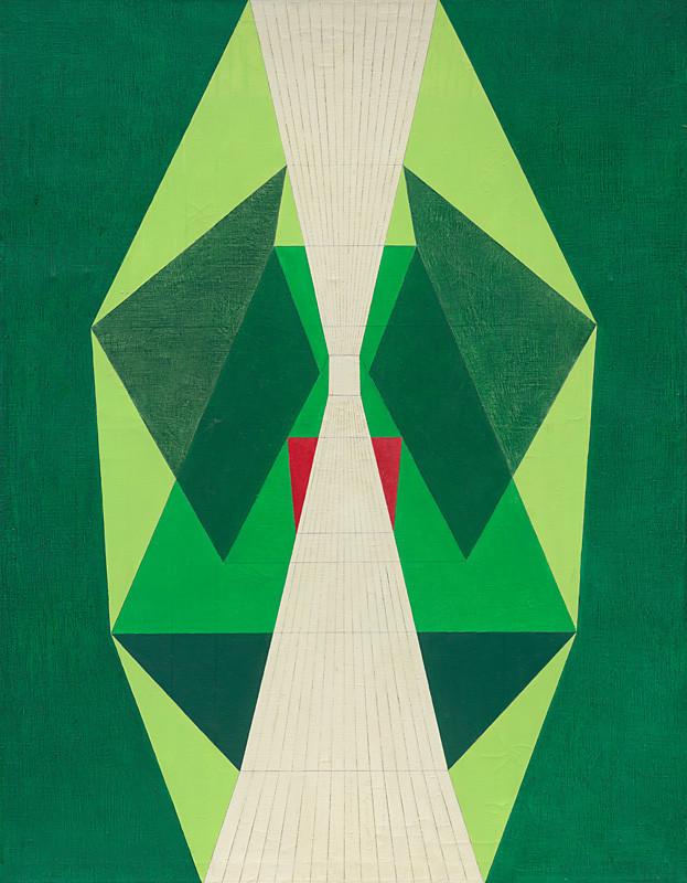 Tamara Klimová - Expanzívny smer, 1967, Slovenská národná galéria