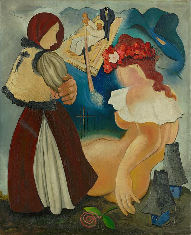 Imrich Weiner-Kráľ - Rachovo (okolo 1935), Slovenská národná galéria, SNG