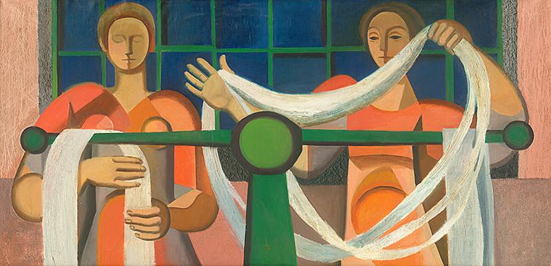 Jarmila Čihánková - Nočná smena, 1962, Slovenská národná galéria