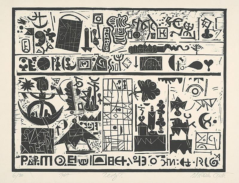 Miroslav Cipár - Texty 1. (1967), Slovenská národná galéria, SNG