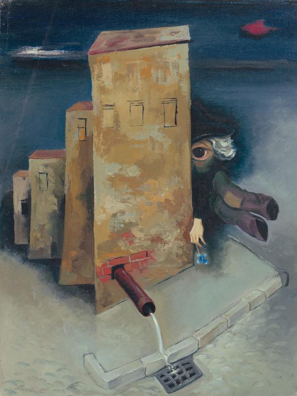 Imrich Weiner-Kráľ - Básnik (okolo 1935), Slovenská národná galéria, SNG