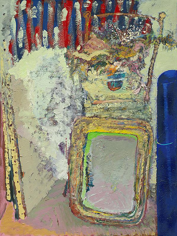 Ján Berger - Zátišie so zrkadlom, 1974-1984, Slovenská národná galéria
