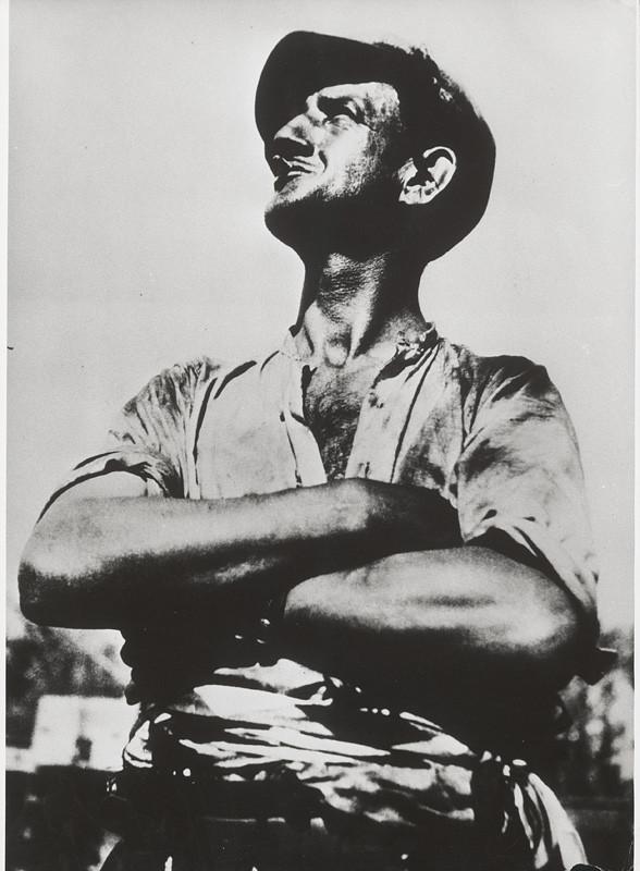 François Kollar: Francúzsky robotník. Z cyklu Pracujúce Francúzsko. 1931. SNG