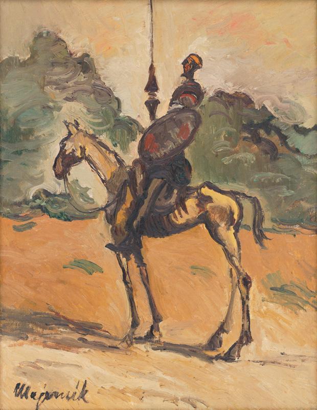 Cyprián Majerník - Don Quijote, 1943,  Slovenská národná galéria