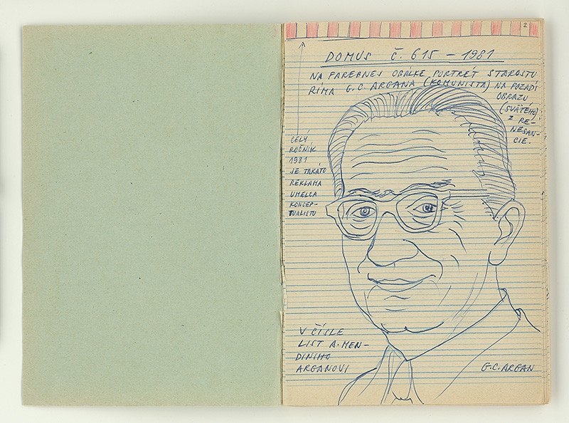 Július Koller - Archív JK/Domus č. 615/1981, Slovenská národná galéria