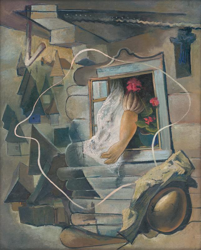 Imrich Weiner-Kráľ - Okno (okolo 1935), Slovenská národná galéria, SNG