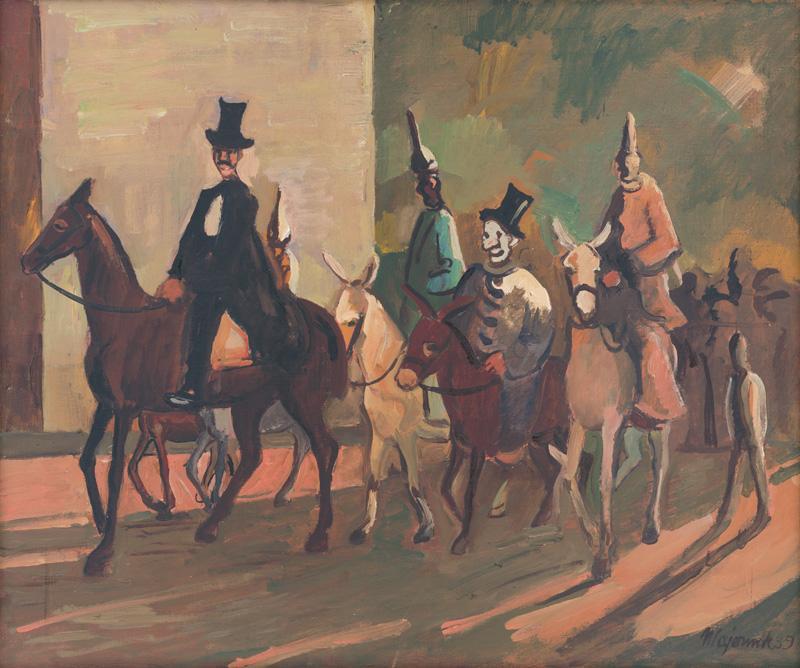 Cyprián Majerník - Vstup do manéže, 1939, Slovenská národná galéria