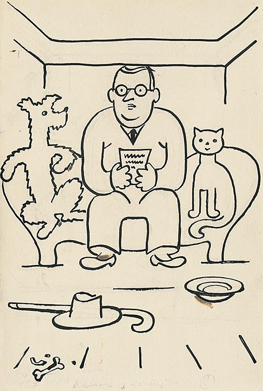 Josef Čapek - Povídání o pejskovi a kočičce 24., okolo 1928