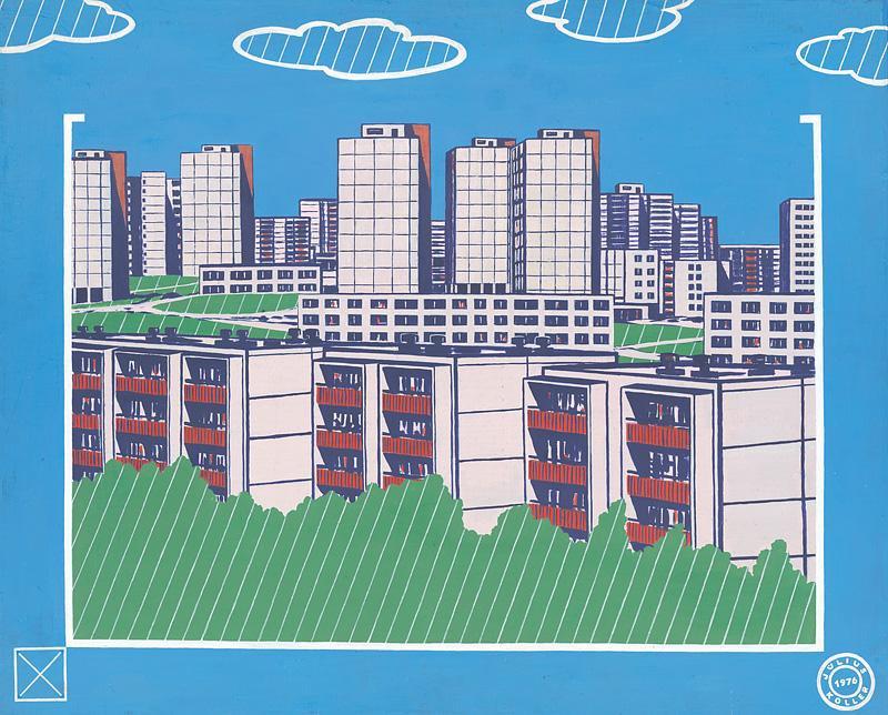 Július Koller - Životné prostredie - ochrana zelene a čistoty (1976), Slovenská národná galéria