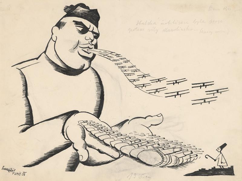 Štefan Bednár - Talianská mobilizácia, 1935