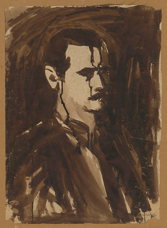 Ján Mudroch - Autoportrét, 1940