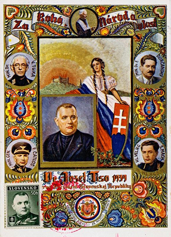 Vincek Hochštetský - Dr. Jozef Tiso – prvý prezident Slovenskej republiky, 1939, Slovenské národné múzeum - Múzeum Slovenských národných rád v Myjave