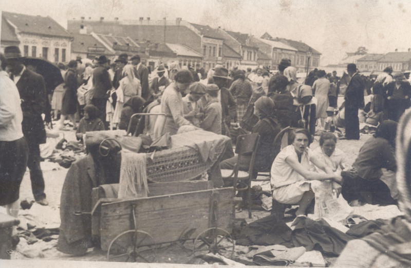 Josef Polák - Starý trh, Košice, 1928