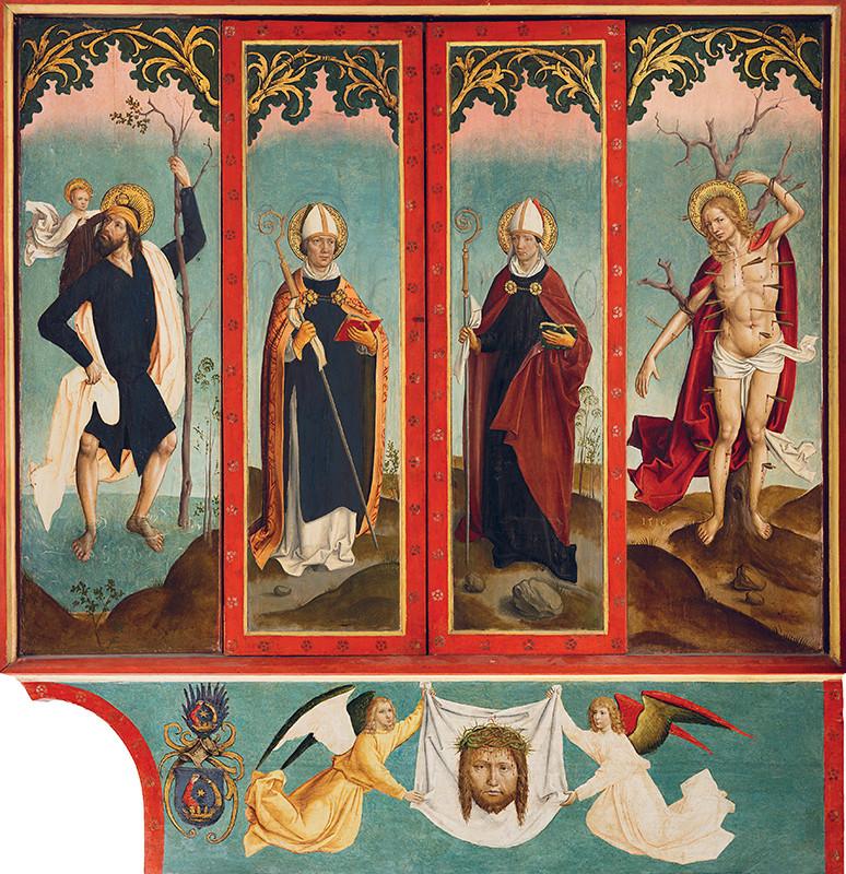 Oltár sv. Martina a sv. Mikuláša v Smrečanoch