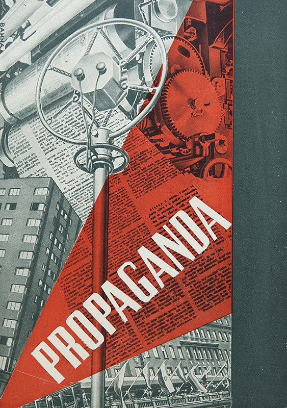 Návrh obálky pre knihu: Josef Goebbels: Propaganda