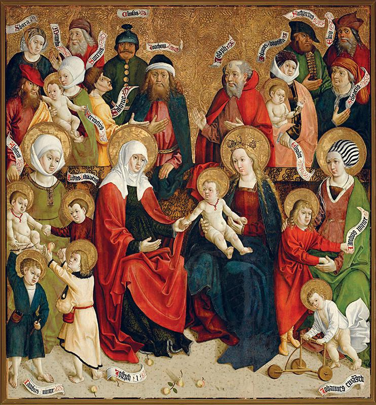 Majster z Hrabušíc – Sväté príbuzenstvo v Spišskej Kapitule