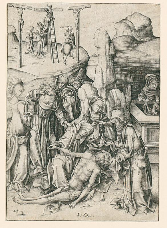 Israhel van Meckenem – Oplakávanie z cyklu Veľké pašie