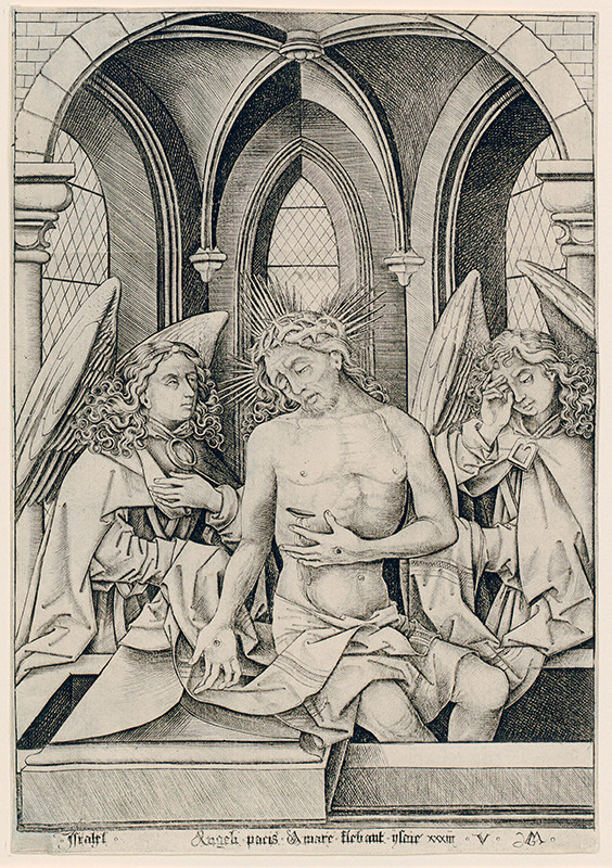 Israhel van Meckenem – Muž bolesti