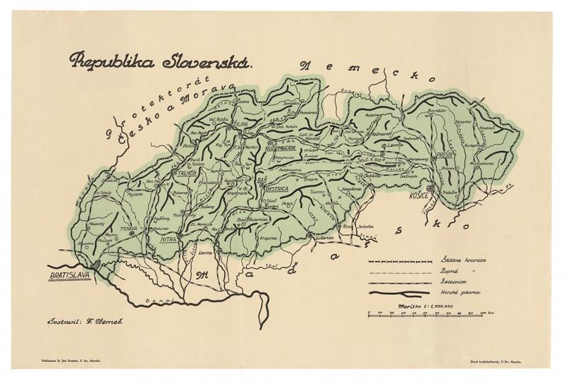 Neznámy autor - Republika Slovenská, 1940 – 1945, Slovenské národné múzeum - múzeum Slovenských národných rád v Myjave
