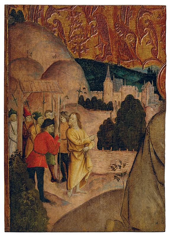 Modlitba na Olivovej hore (fragment)